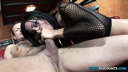 Ass Riding Babe Swallows - scene 2