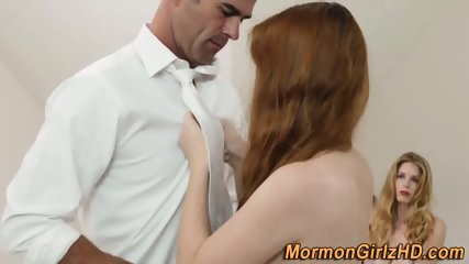 Mormon pussy cum anointed