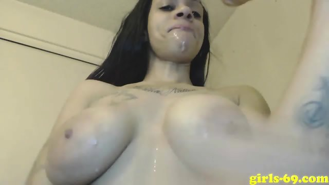 Hot milf sucking a dildo and doing dirty things on camera