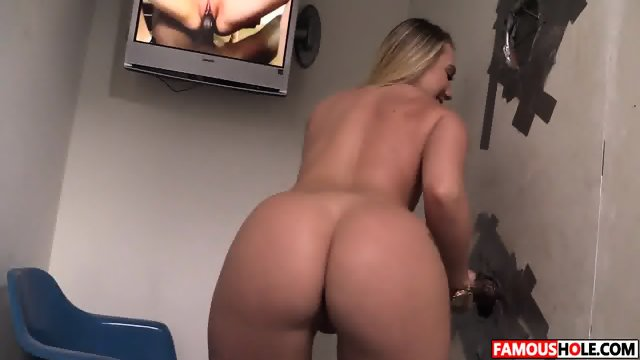 AJ Applegate Visiting The Famous Glory Hole