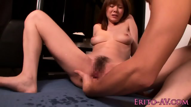 Busty nippon squirter gets mouthfull of cum - scene 8