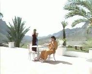 Italians have passionate Sex on Terrace - scene 1