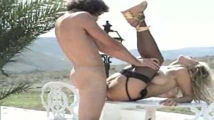 Italians have passionate Sex on Terrace - scene 9