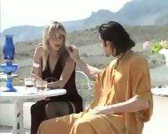 Italians have passionate Sex on Terrace - scene 2