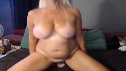 MILF Slut Play Dildo On Webcam - scene 2