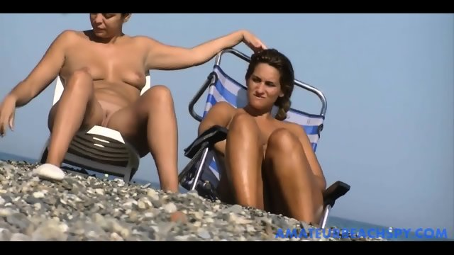 Nude beach women exposed by hidden camera