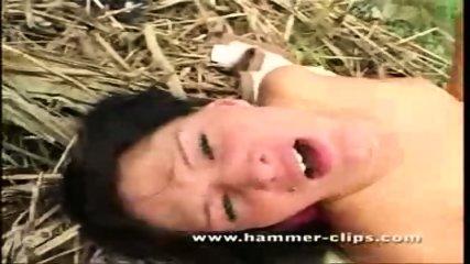 Lesbian Fingering Outdoors - scene 10