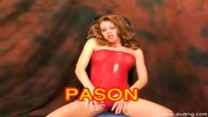 Lovely Redhead Pason Rides Cock - scene 1