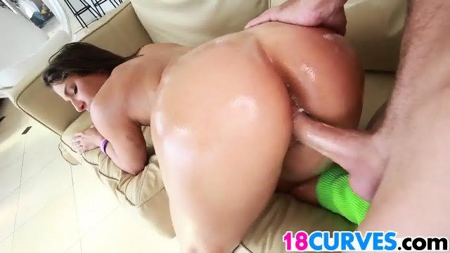 Teen Abella Danger has a dangerous ass