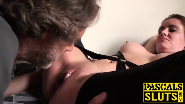 Submissive lizzy lovers gets dominated and fucked by pascal - 3 part 10