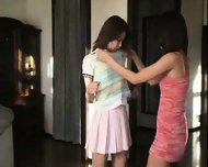 Asian Lesbian Pee - scene 2