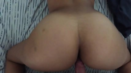 Big Ass Hot Girlfriend Rides My Dick Like Crazy