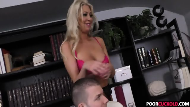 A BBC For HotWife Lexi Lowe While Cuckold Watching