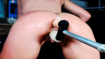 Double Penetration With Squirting GloryHole - scene 4
