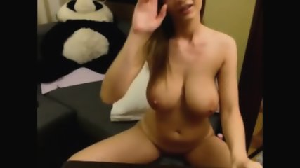 Showing Off My Big Boobs On Cam - scene 12