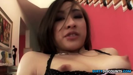 Asian Dildo Babe Doggystyled After Toying - scene 12