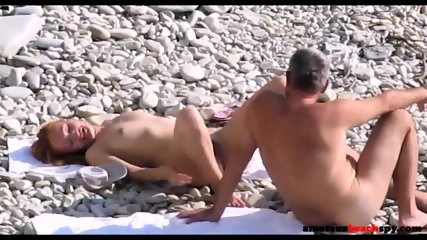 Nude Wife Fucked On Candid Beach By Fat Hubby - scene 8