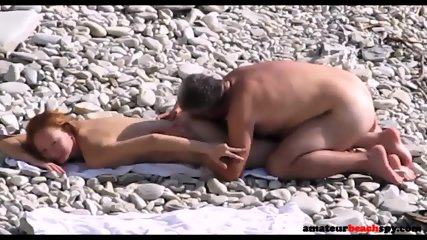 Nude Wife Fucked On Candid Beach By Fat Hubby - scene 2