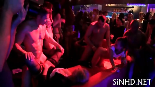 Libidious orgy partying