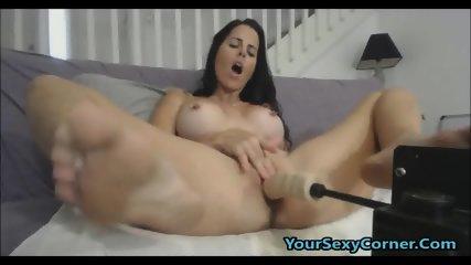 My Tight Latina Friend Ravaged By My Fucking Machine - scene 12
