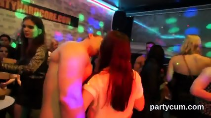 Slutty chicks get fully foolish and naked at hardcore party - scene 11