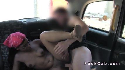 Brazzilian hottie bangs in London fake cab - scene 7