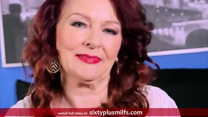 Redhead Granny Gives A Good Blowjob - scene 4