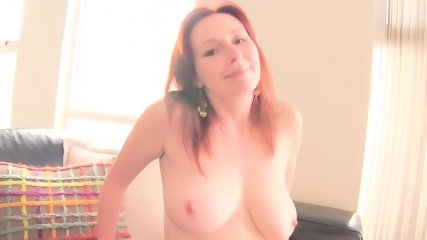 pretty Ellinude secretary strips and plays with her pussy - scene 12