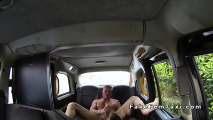 Busty taxi driver rimmed and fucked in her cab - scene 8