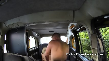 Busty taxi driver rimmed and fucked in her cab - scene 11