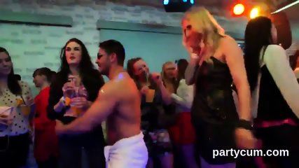 Hot sweeties get entirely crazy and undressed at hardcore party - scene 8