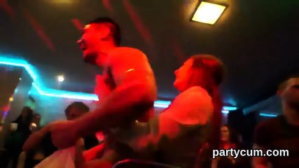 Hot sweeties get entirely crazy and undressed at hardcore party - scene 4
