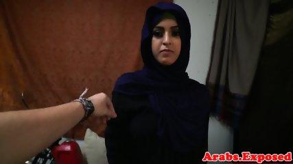 Jihab arab babe enjoying cock on camera POV - scene 3