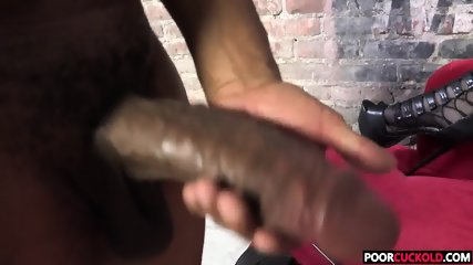 Poor Cuckold Watching Harmoni Kalifornia Taking A BBC