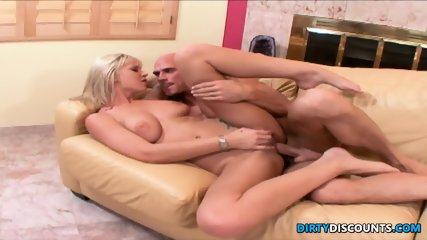 Barefeet Busty Cocksucker Gets Feet Jizzed - scene 12
