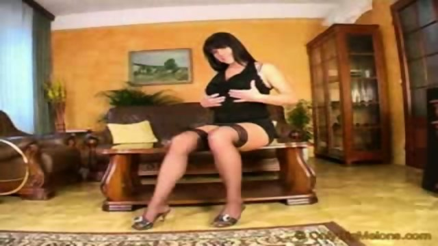 Busty Anna like posh bitch in luxury apartman