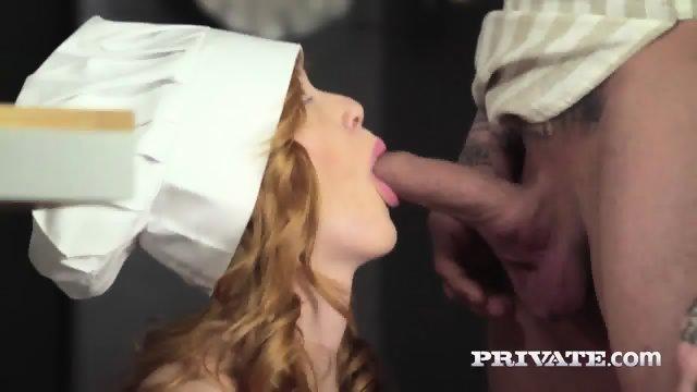 Private.com - Teen Anny Aurora Gets Cum On Salad