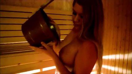 Nice Tits In Sauna