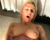 Hot Chick gets fucked in the Kitchen - scene 9