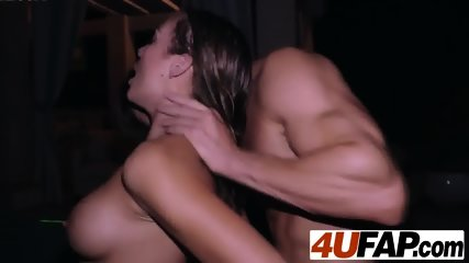 Blair is eager to feel the cock of her boyfriend who has not seen in months