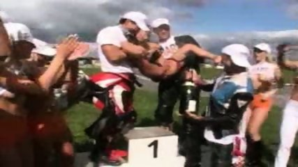 Champagne for the Champion - scene 9