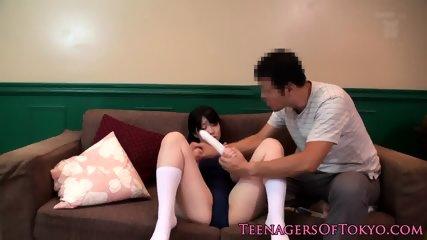 Bukkake japanese teen toyed in pussy - scene 2