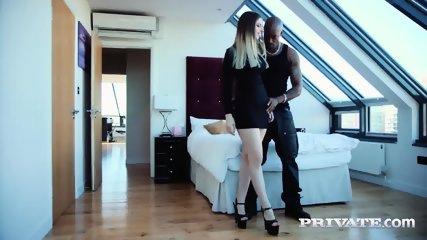 Private.com - Interracial Anal With Busty Stella Cox - scene 5