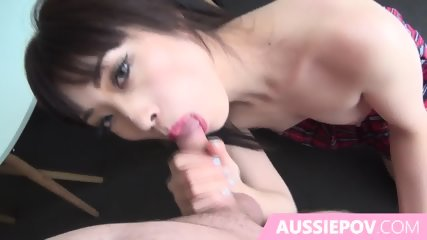 Home Made Pov Sex With Asian In School Girl Costume - scene 2