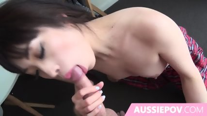 Home Made Pov Sex With Asian In School Girl Costume