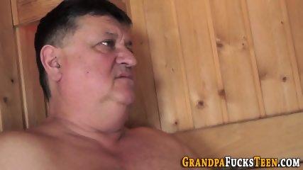 Slut foot tugs oldys cock
