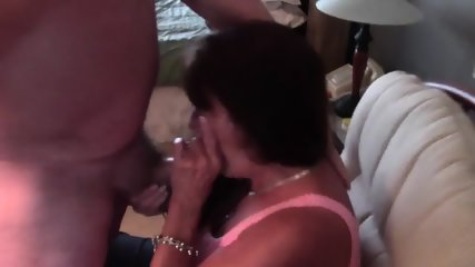 Carol Behrman Milks A Cock!