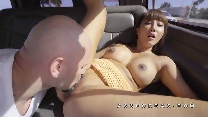 Tiffany Rain asian pussy white cock sex - scene 1