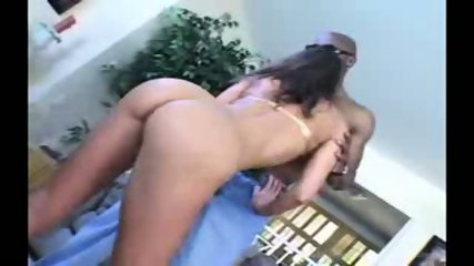 Naomi Russell interracial action on a couch (part 1) - scene 8