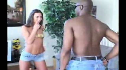 Naomi Russell interracial action on a couch (part 1) - scene 2